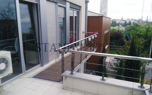 Three bedroom apartment Senjak Belgrade S1535